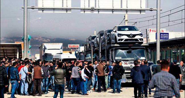 Renault'da eylem başladı