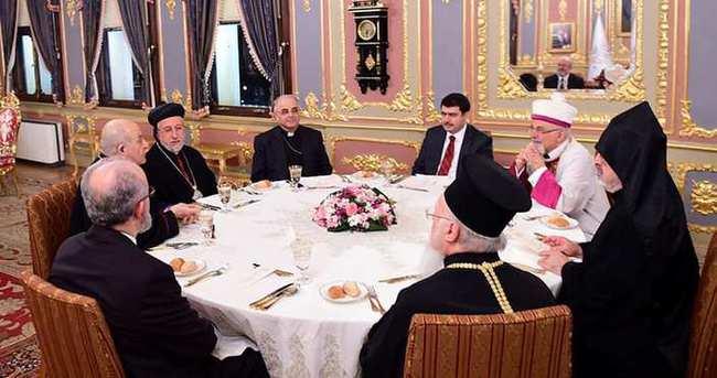 İstanbul Valisi Şahin dini liderlerle bir araya geldi