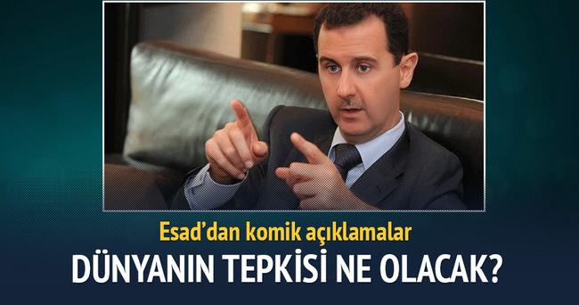 Esad ülkede iç savaş olmadığını söyledi