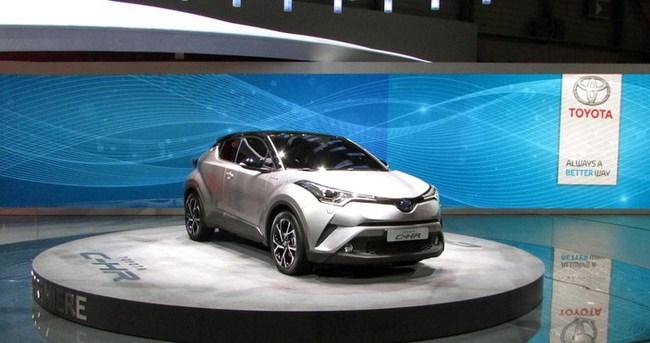 Toyota C-HR Cenevre'de