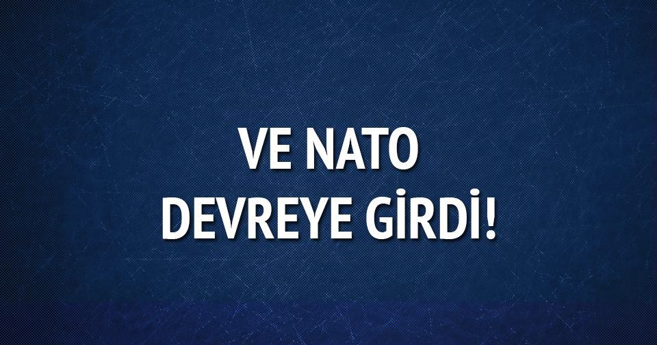 NATO'dan Ege'de ilk mülteci operasyonu
