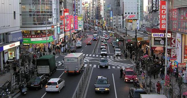 Robot taksiler şehir trafiğinde