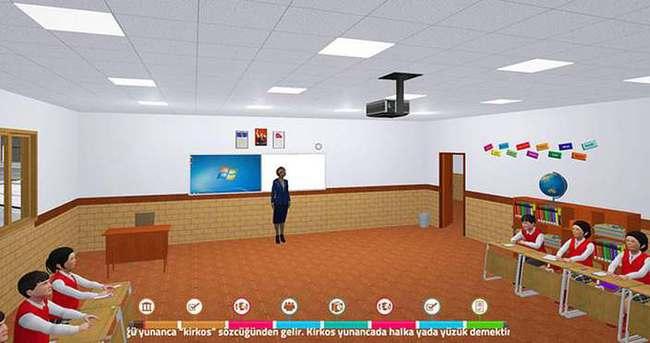Simülasyon sınıflarda ders