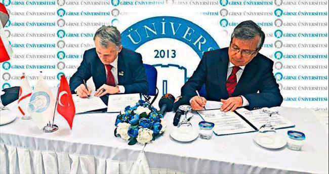 Girne ile Tatar Meclisi eğitim protokolü yaptı