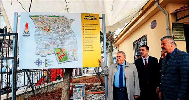 Onikişubat'ta harita atağı