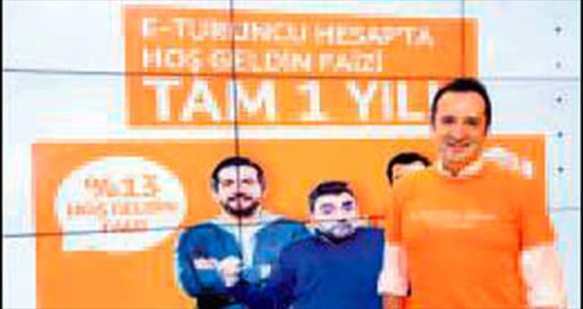 ING'de yeni hedef 2 milyar TL'lik sanal turuncu