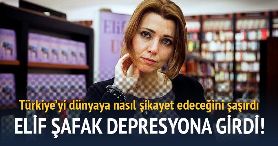 Elif Şafak depresyona girdi