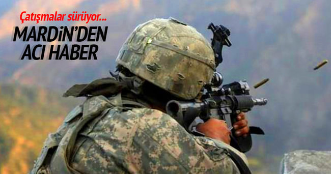 Mardin'de 3 asker şehit