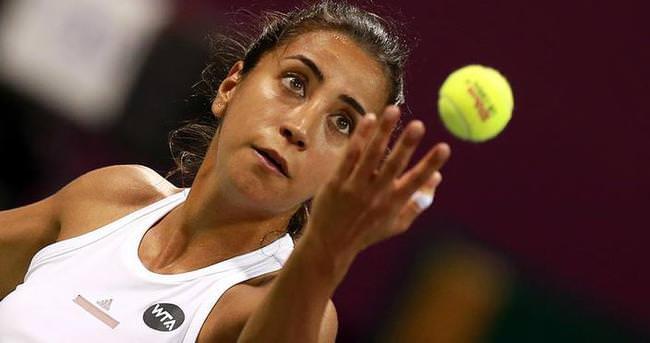 Çağla ikinci kez WTA çeyrek finalinde