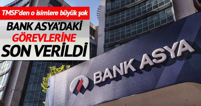 Bank Asya'da o isimlerin görevlerine son verildi