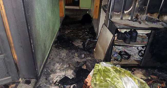 Sobayı yakayım derken evi yaktı!