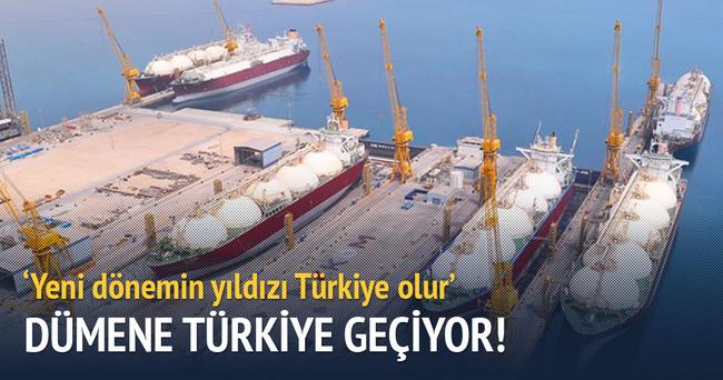 Türkiye dümene geçiyor