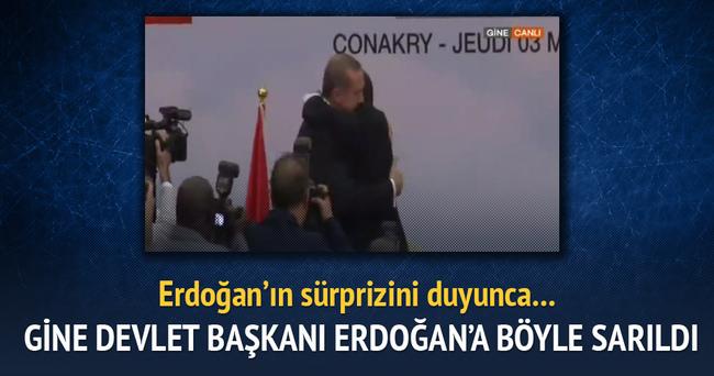 Cumhurbaşkanı Erdoğan'dan Conde'ye doğum günü hediyesi