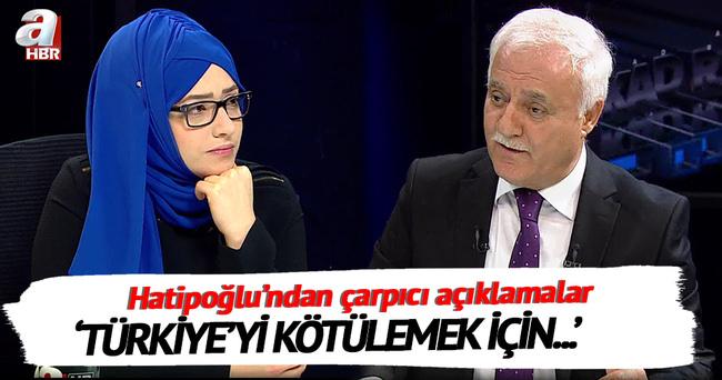 'Türkiye'yi kötülemek için yarışan medya grupları var'