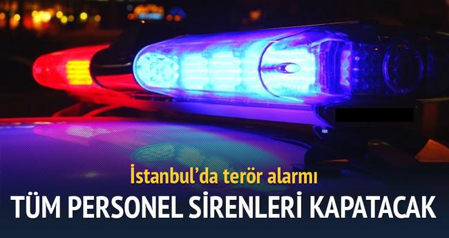 İstanbul'da terör alarmı