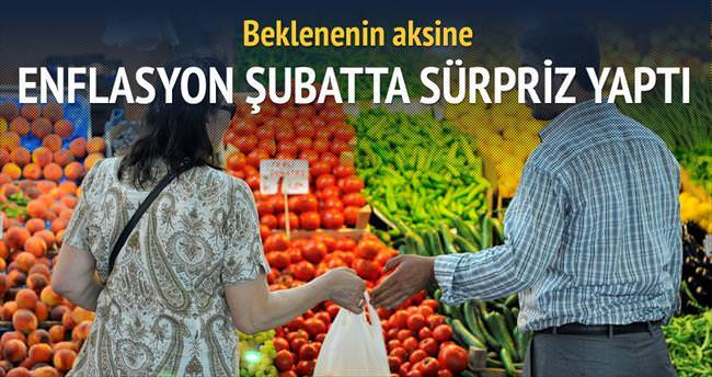 Enflasyonun gıdası kesildi