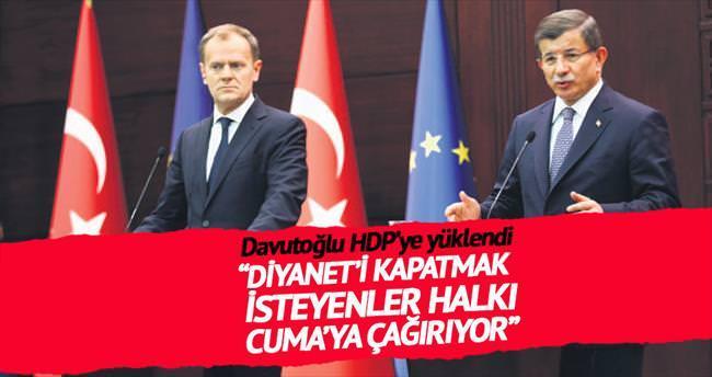 'Halkımız provokasyon çağrısına yüz vermedi'