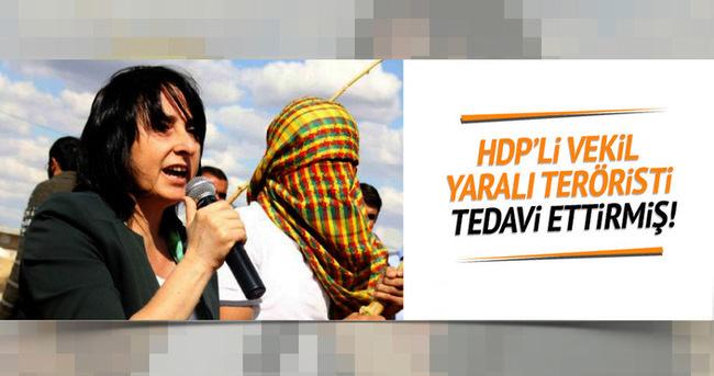 Yaralı PKK'lıyı HDP'li vekil tedavi ettirdi
