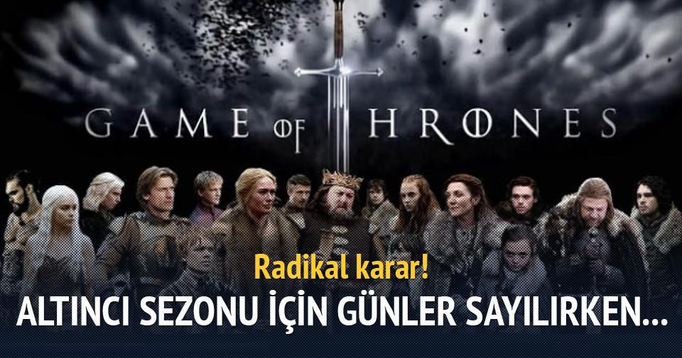 Game of Thrones'ta radikal yenilik!