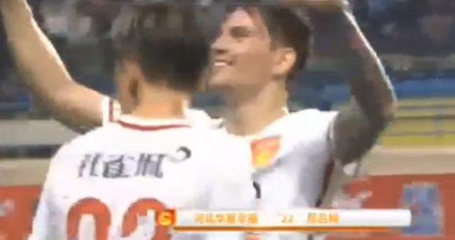 Ersan Gülüm'den Çin'de tarihi gol!