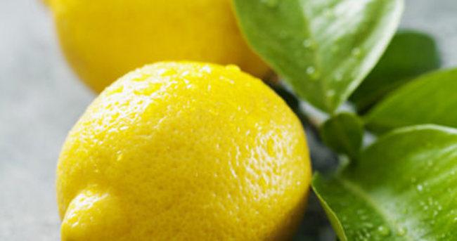 Topuk dikenine karşı limon önerisi