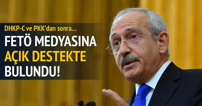 Kemal Kılıçdaroğlu'ndan FETÖ medyasına tam destek!