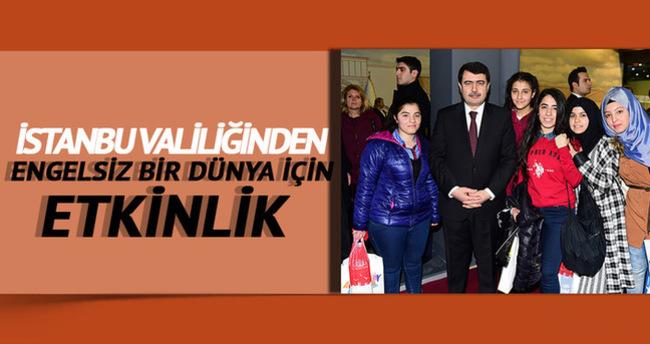 Vali Şahin İstanbul Valiliği boyama standını açtı