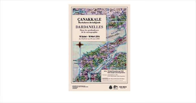 Çanakkale Savaşı'nın haritaları sergileniyor