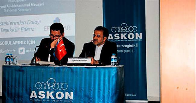 Ekonomik işbirliği için İzmir'e geldi