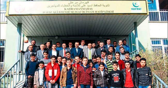 Suriyeli öğrencilere imam hatip lisesi