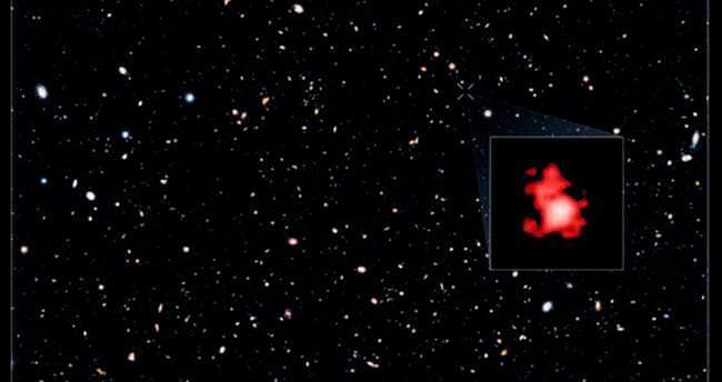 En uzak ve yaşlı galaksi keşfedildi