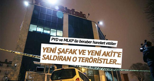 Yeni Şafak ve Yeni Akit'e saldıran 5 terörist tutuklandı