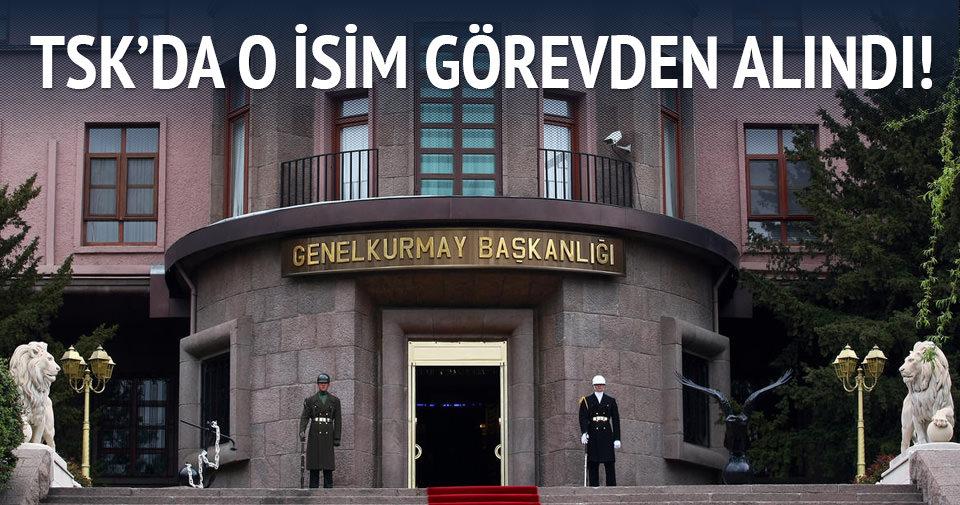 Genelkurmay Adli Müşaviri Albay Muharrem Köse görevden alındı