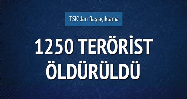 Kırsal'daki operasyonda 1250 PKK'lı öldürüldü