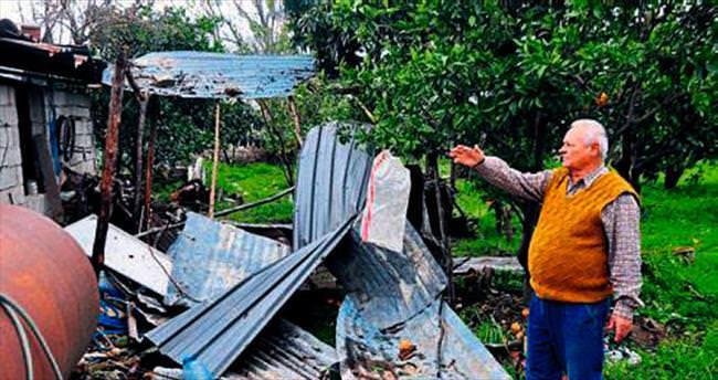 Manavgat'ta hortum zararı
