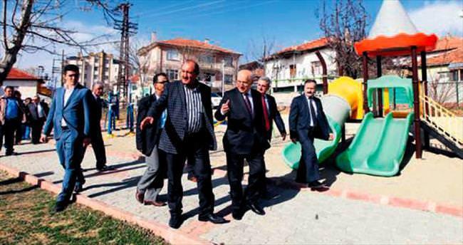 Başkan Yaşar'dan Bala'ya taziye ziyareti