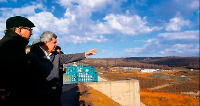 Başkan, HES inşaatını denetledi