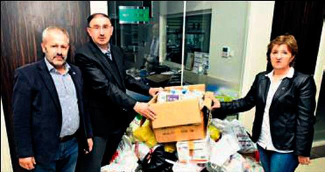 Türkmenlere ilaç seferberliği
