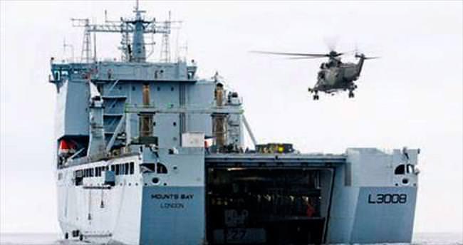 Kraliyet Donanması kaçakçılara karşı