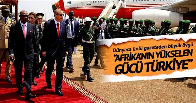 Afrika'nın yükselen gücü Türkiye