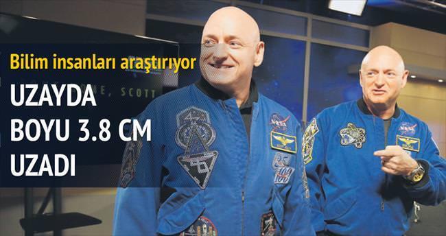 Uzayda uzayan boyu 3 günde eskiye döndü