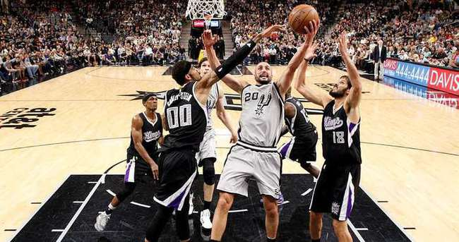 San Antonio Spurs'ten müthiş seri