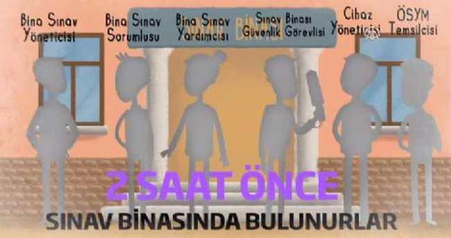 ÖSYM'den sınav görevlilerine animasyon filmiyle eğitim