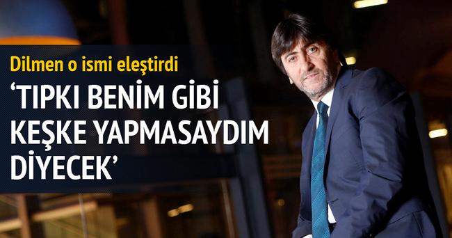 Rıdvan Dilmen: Fiyasko bir Galatasaray