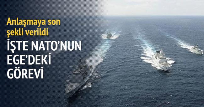 İşte NATO'nun Ege'deki görevi
