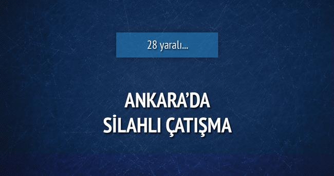 Ankara'da silahlı çatışma: 28 yaralı