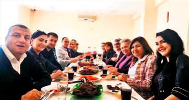 ZİÇEV'de yemekli bilgilendirme