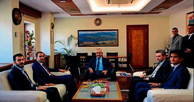 Özdemir'den KSÜ rektörüne ziyaret