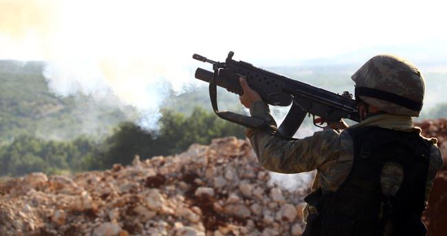 2 ilçede 10 terörist öldürüldü