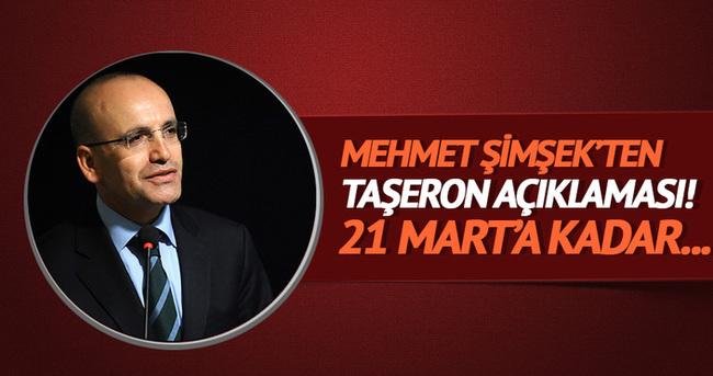 Mehmet Şimşek'ten 'taşeron' açıklaması